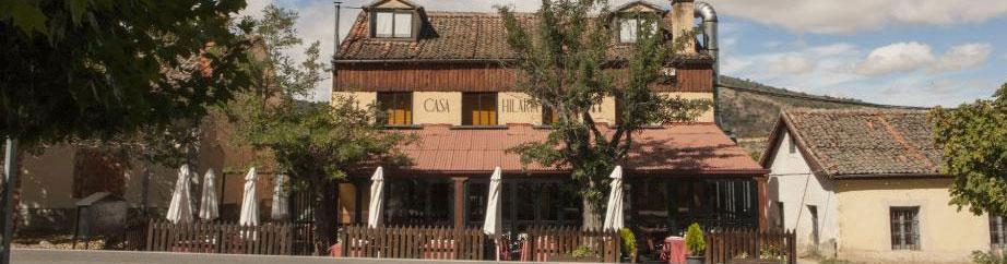 Fachada Restaurante La Hilaria Vasain